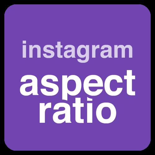 instagram aspect ratio
