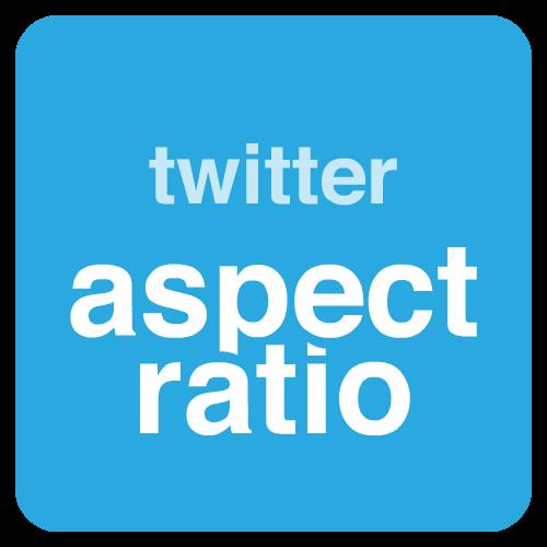 twitter aspect ratio